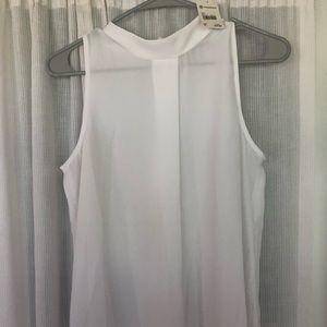 Versona mock new white blouse !